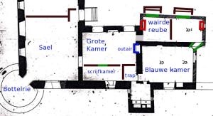 KamersPlattegrond