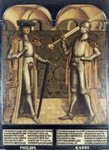 Portretreeks Graven van Holland, Haarlem 1486
